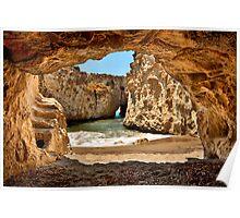 CaveBeach of Papafrangas Poster