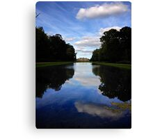 Mansion Reflection Canvas Print