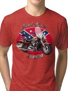 Kawasaki Nomad Road Rebel Tri-blend T-Shirt
