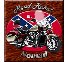Kawasaki Nomad Road Rebel Photographic Print