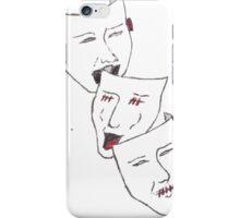 Hear no evil, see no evil, speak no evil. iPhone Case/Skin