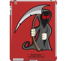 Palindrome from HELL! iPad Case/Skin