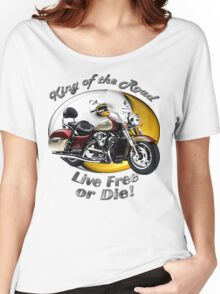 Kawasaki Nomad King Of The Road Women's Relaxed Fit T-Shirt
