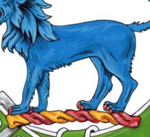 Clan Bruce Scottish Crest Sticker