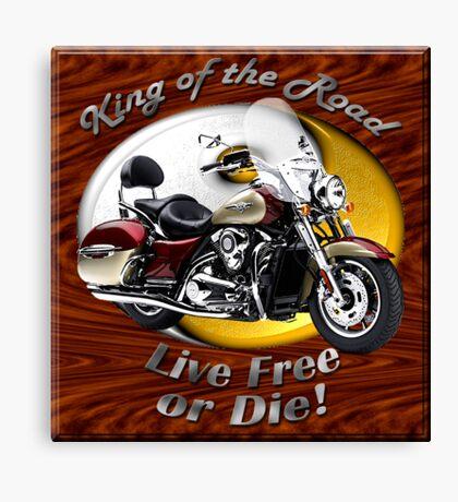 Kawasaki Nomad King Of The Road Canvas Print