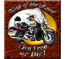 Kawasaki Nomad King Of The Road Photographic Print