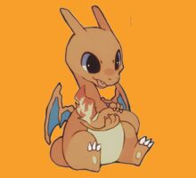 Chibi Charizard by Nellow