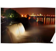 Rideau Falls, Ottawa, Canada. Poster