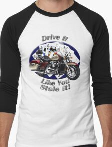Kawasaki Nomad Drive It Like You Stole It Men's Baseball ¾ T-Shirt