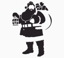 Santa One Piece - Short Sleeve