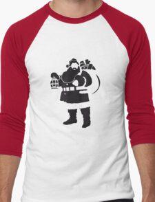 Santa Men's Baseball ¾ T-Shirt