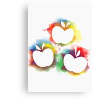 Applejack Poster- Silhouette Canvas Print