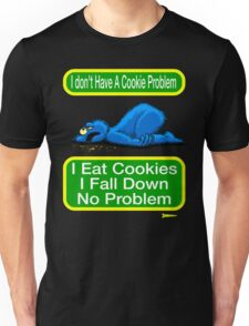 Cookie Monster has a Cookie Problem Unisex T-Shirt