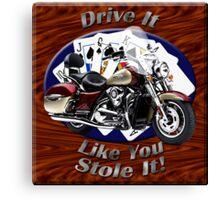 Kawasaki Nomad Drive It Like You Stole It Canvas Print