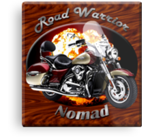Kawasaki Nomad Road Warrior Metal Print