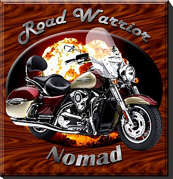 Kawasaki Nomad Road Warrior by hotcarshirts