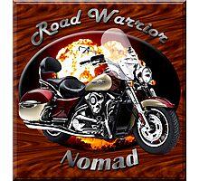 Kawasaki Nomad Road Warrior Photographic Print
