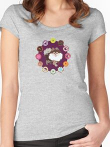 Furry Dough Women's Fitted Scoop T-Shirt