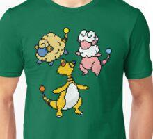 Mareep, Flaaffy and Ampharos Unisex T-Shirt