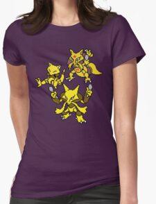Abra, Kadabra and Alakazam Womens Fitted T-Shirt