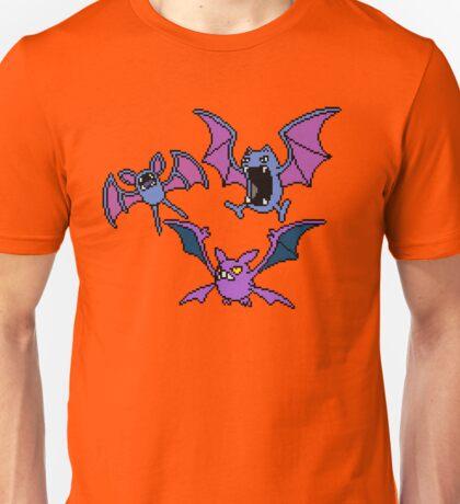 Zubat. Golbat and Crobat Unisex T-Shirt
