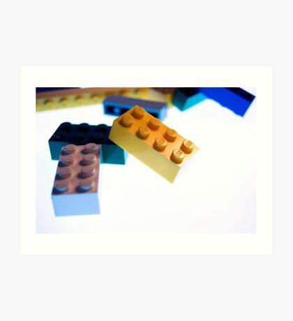 Lego Pile  Art Print
