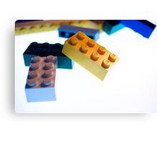 Lego Pile  Canvas Print
