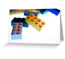 Lego Pile  Greeting Card