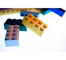 Lego Pile  Photographic Print
