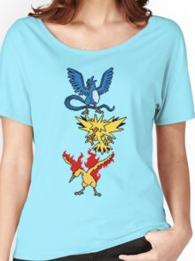 Articuno, Zapdos and Moltres Women's Relaxed Fit T-Shirt