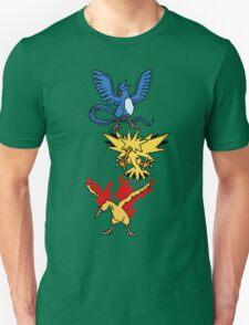 Articuno, Zapdos and Moltres T-Shirt