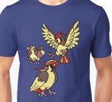 Pidgey, Pidgeotto and Pidgeot Unisex T-Shirt