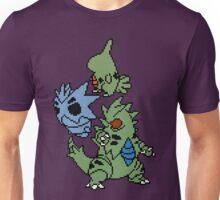 Larvitar, Pupitar and Tyranitar Unisex T-Shirt