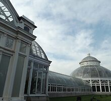 Classic Architecture, New York Botanical Garden, Bronx, New York  by lenspiro