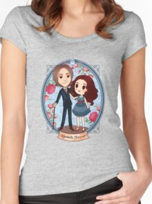 Rumbelle forever Women's Fitted Scoop T-Shirt