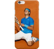 Rafael Nadal win his 6th French Open Tennis 2011 iPhone Case/Skin