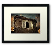 Years of decay Framed Print