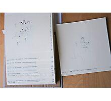 250 Night & Nap drawings - summer 2013 Photographic Print