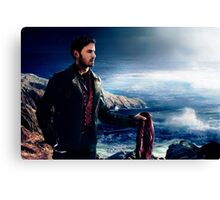 OUAT in Camelot - Captain Hook  Canvas Print