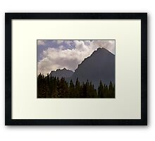 The Mountains are Calling Me Framed Print