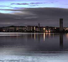 Morning Blue on the Aalborg Limfjord   (3) by cullodenmist