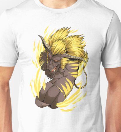 Golden Thunder God Unisex T-Shirt