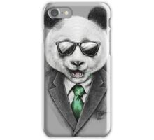 Panda Secret Agent iPhone Case/Skin