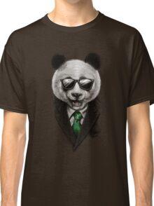 Panda Secret Agent Classic T-Shirt