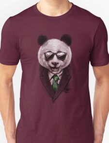 Panda Secret Agent T-Shirt