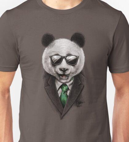 Panda Secret Agent Unisex T-Shirt