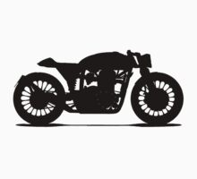 Cafe Racer T Shirt by blacktopspirit