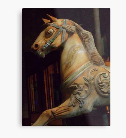 The Dark Horse Mourns Metal Print