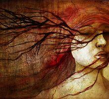 Tree ghosts by Irina Sidorowicz
