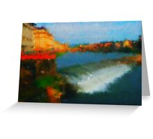 Firenze  bridges Greeting Card